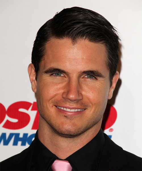 Robbie Amell Short Straight Formal