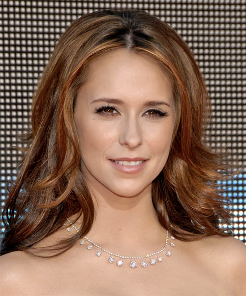 Jennifer Love Hewitt Long Wavy Formal Hairstyle