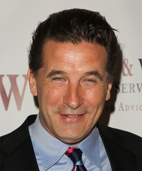 William Baldwin Short Straight Casual Hairstyle Medium