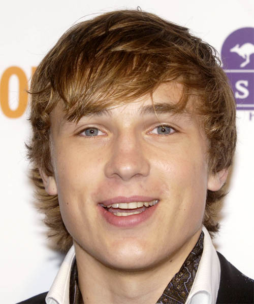 William Moseley Short Straight Hairstyle