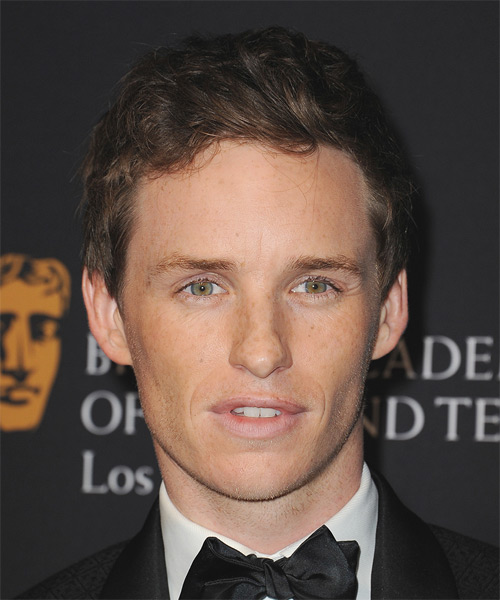Eddie Redmayne Short Straight
