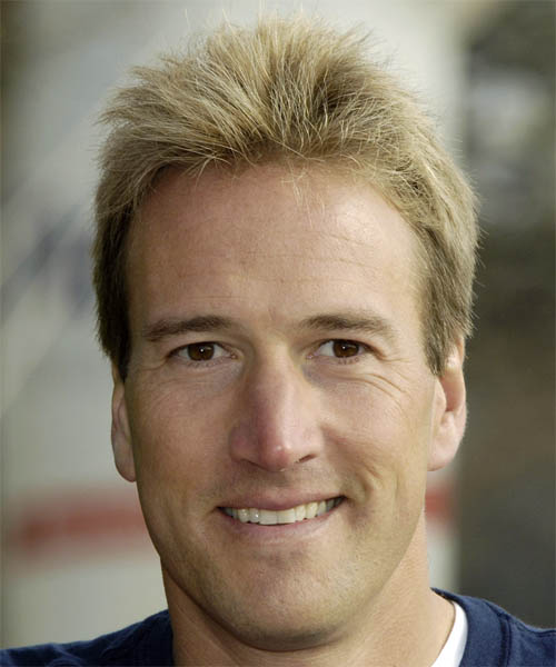 Ben Fogle Short Straight Hairstyle