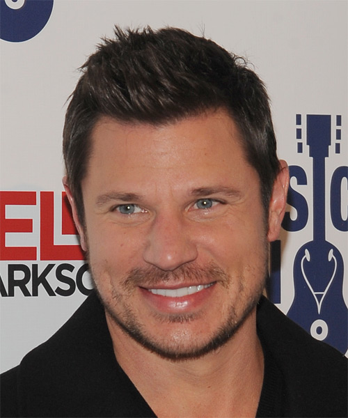 Nick Lachey Short Straight Casual