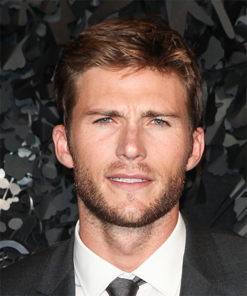 Scott Eastwood Short Straight Casual Hairstyle - Medium Brunette (Chestnut)