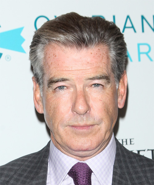 Pierce Brosnan Short Straight