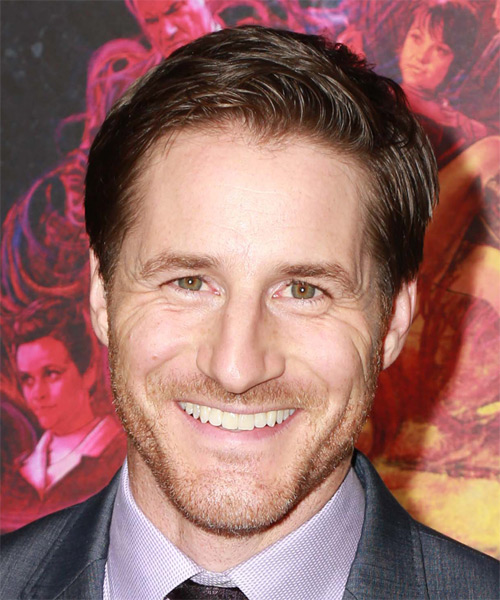 Sam Jaeger Short Straight Formal  - Medium Brunette