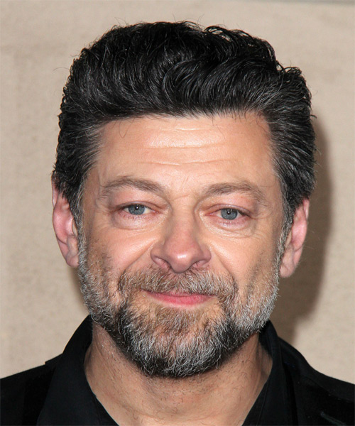 Andy Serkis Short Wavy Formal