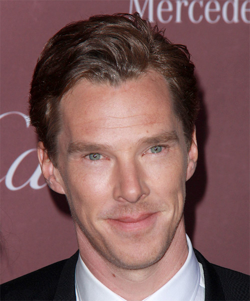 Benedict Cumberbatch Short Straight Formal