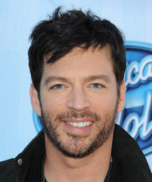 Harry Connick Jr Straight Casual  - Black