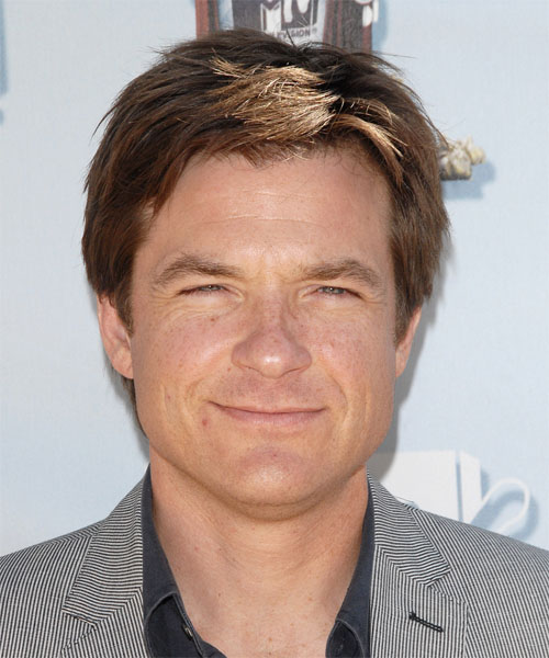 Jason Bateman Short Straight Casual Hairstyle - Light Brunette Hair Color