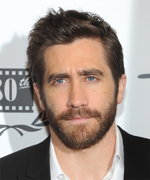 Jake Gyllenhaal Short Straight Casual  - Medium Brunette
