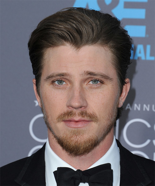 Garrett Hedlund Short Straight Formal Hairstyle - Medium Brunette (Ash) Hair Color