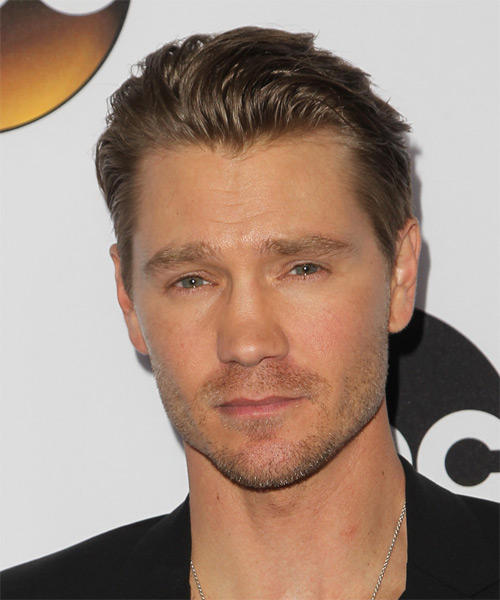 Chad MIchael Murray Short Straight Casual Hairstyle - Medium Brunette