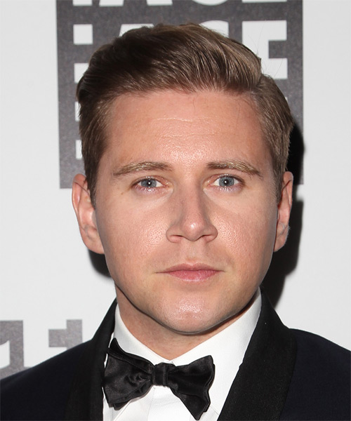 Allen Leech Short Straight Formal  - Light Brunette