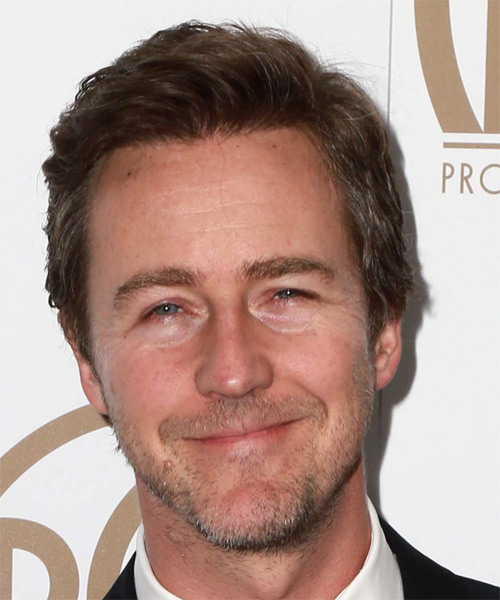 Edward Norton Short Straight Casual  - Medium Brunette (Chocolate)