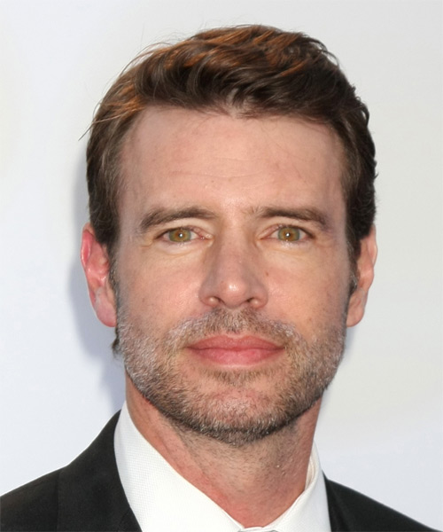 Scott Foley Short Straight Casual  - Medium Brunette