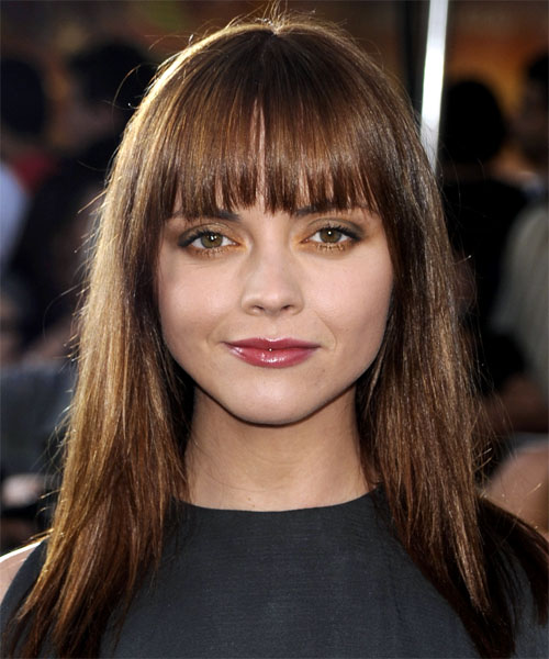 Christina Ricci Long Straight Casual