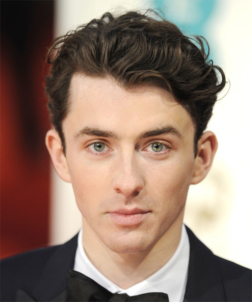 Matthew Beard Short Wavy Casual  - Dark Brunette (Ash)
