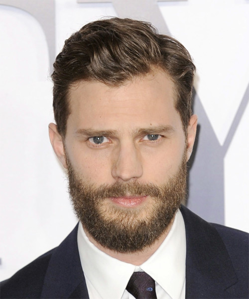 Jamie Dornan Short Wavy Formal