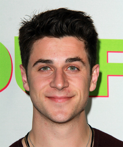 David Henrie Short Straight Casual  - Black