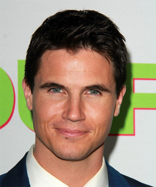 Robbie Amell Short Straight Casual