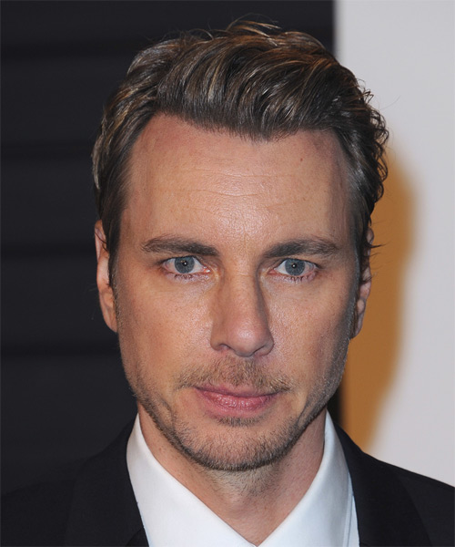Dax Shepard Short Straight Formal Hairstyle - Dark Brunette