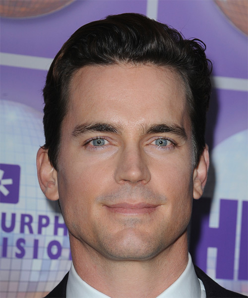 Exceptional Matt Bomer Short Straight Formal Hairstyle   Black | TheHairStyler.com
