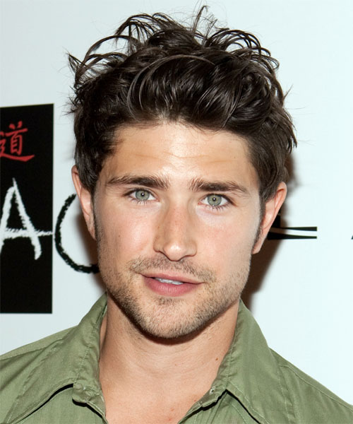 Matt Dallas Short Straight Casual