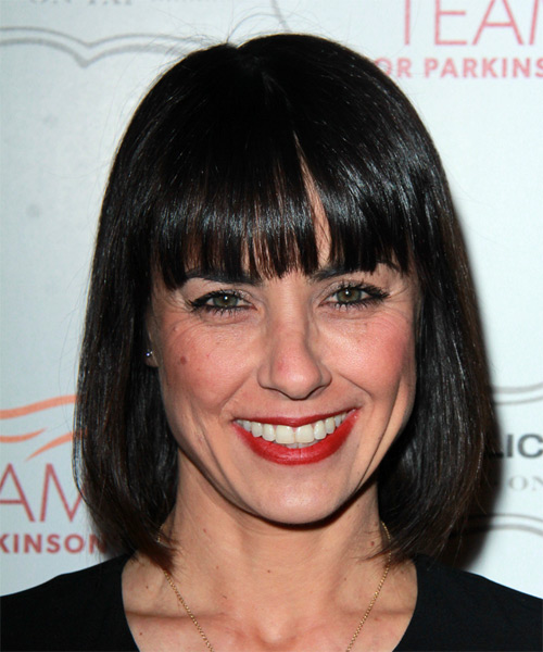 Constance Zimmer Medium Straight Formal Hairstyle