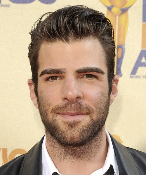 Zachary Quinto Short Straight Formal Hairstyle