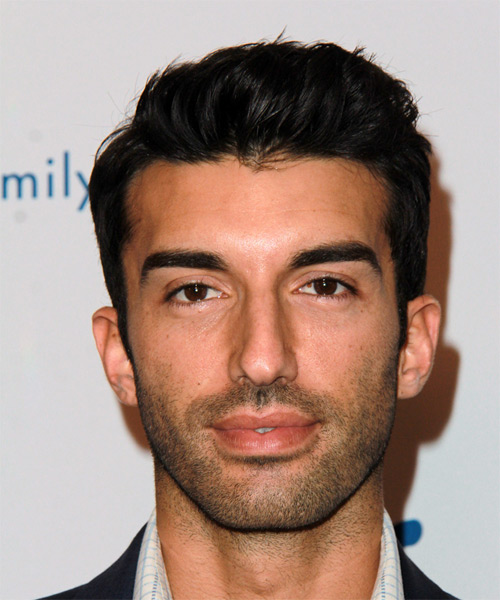 Justin Baldoni Short Straight Casual