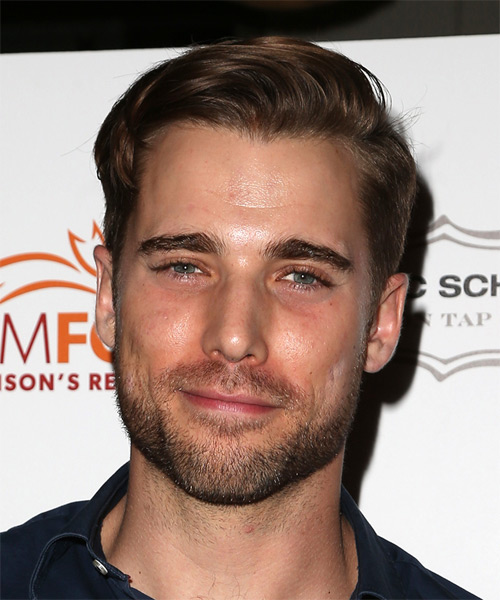 Dustin Milligan Short Straight Casual