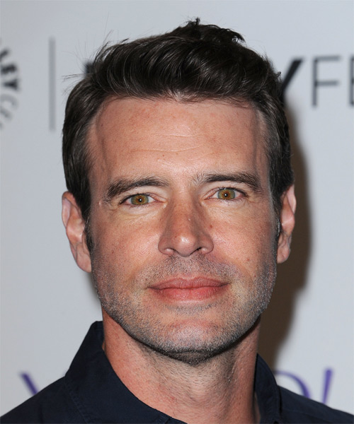 Scott Foley Short Straight Casual  - Dark Brunette