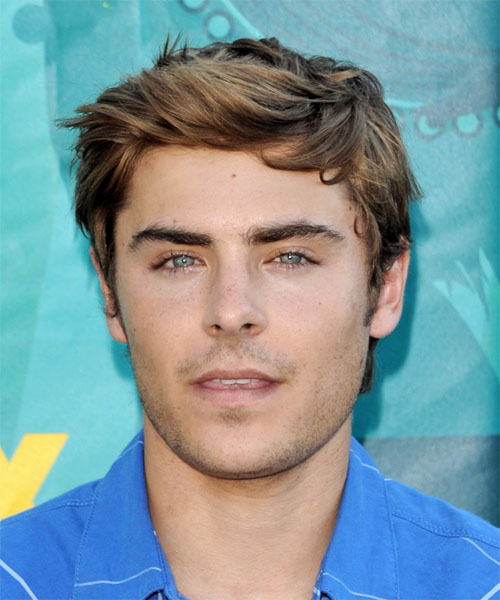 Zac Efron short  - Casual Short Straight Hairstyle