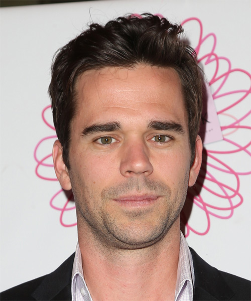 David Walton Short Straight Casual  - Medium Brunette