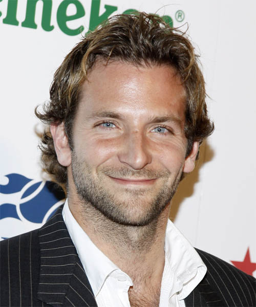 Bradley Cooper - Casual Short Wavy Hairstyle