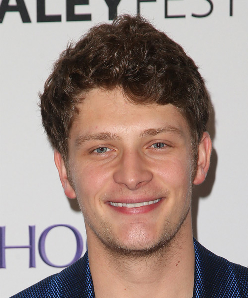 Brett Dier Short Wavy Casual  - Light Brunette