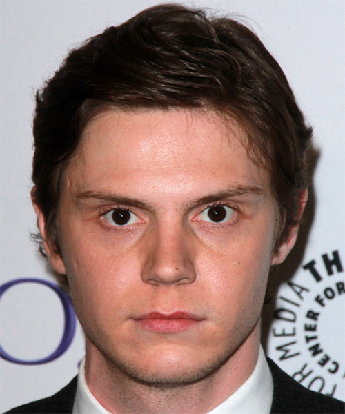 Evan Peters Short Straight Formal
