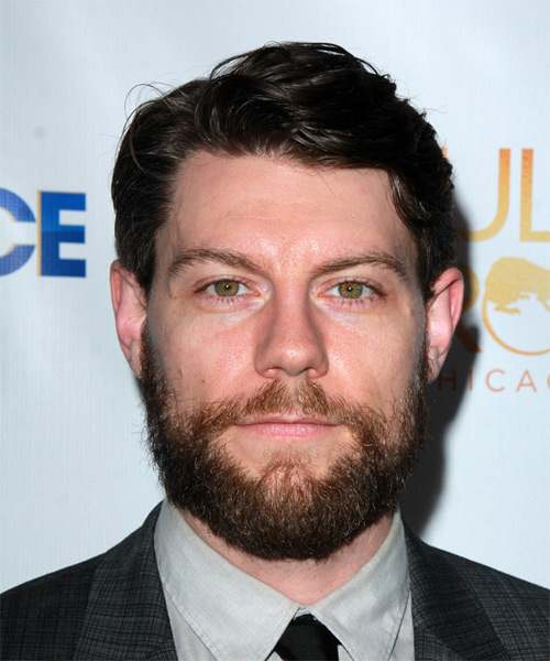 Patrick Fugit Short Wavy Formal Hairstyle