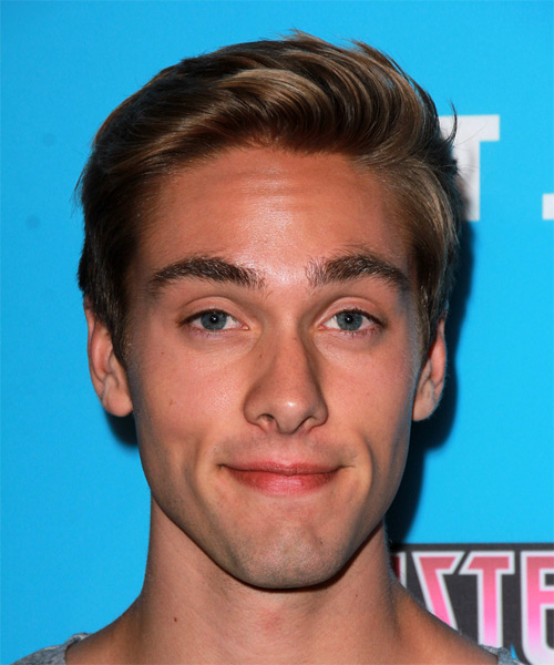Austin North Short Straight Casual Hairstyle
