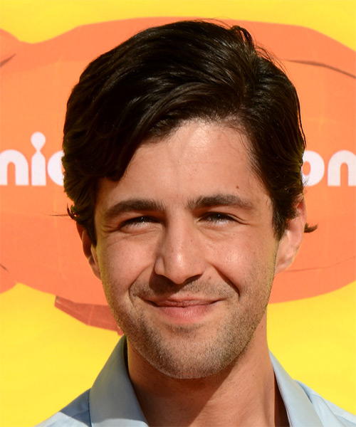 Josh Peck Short Straight Casual  - Dark Brunette
