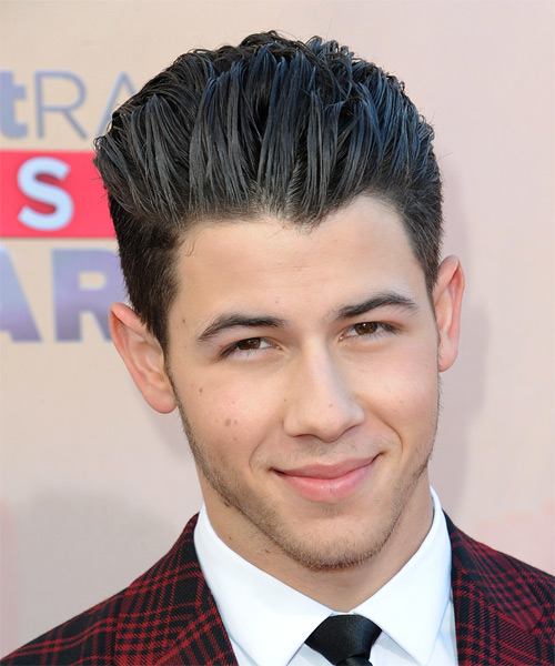 Nick Jonas Short Straight