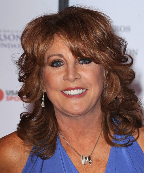 Nancy Lieberman Wavy Formal