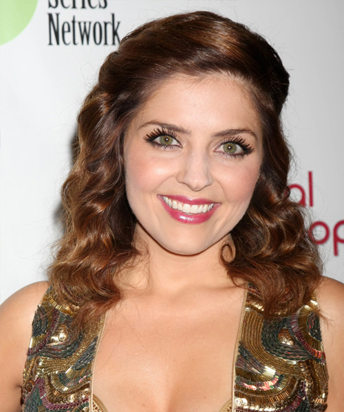 Jen Lilley Long Wavy Formal