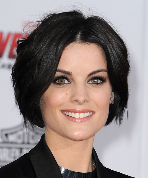 Jaimie Alexander Short Straight Casual Hairstyle - Black Hair Color