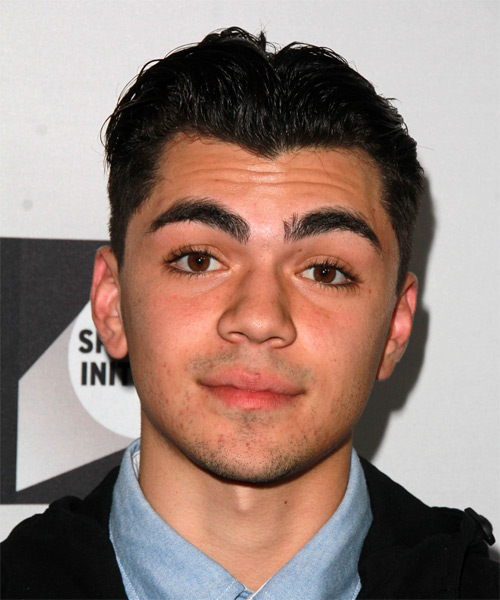 Adam Irigoyen Short Straight Formal Hairstyle