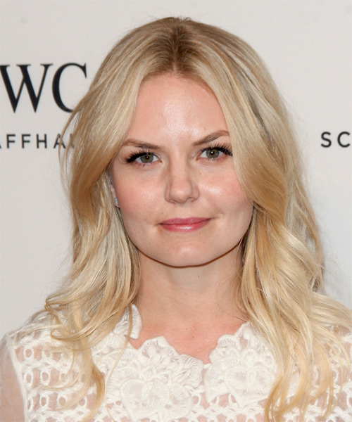 Jennifer Morrison Long Wavy Casual Hairstyle - Light Blonde
