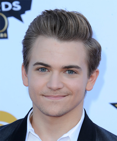 Hunter Hayes Short Straight Formal Hairstyle