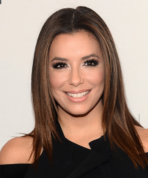 Eva Longoria Long Straight Casual