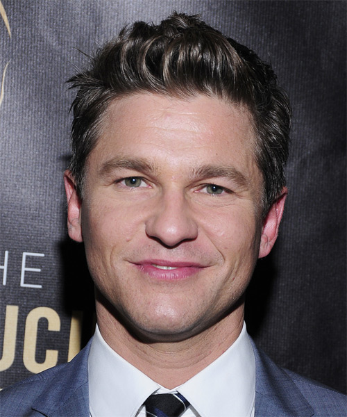 David Burtka Short Straight Casual
